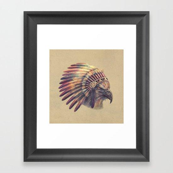 Chief - colour option Framed Art Print
