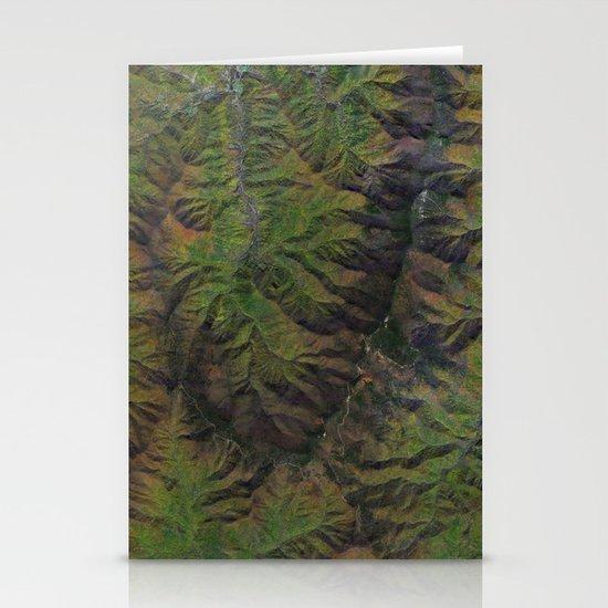 Blue Ridge Mountains North Carolina North America Stationery Cards