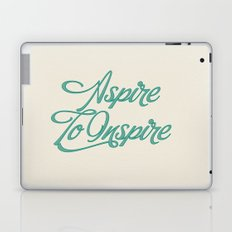 Aspire To Inspire Laptop & iPad Skin