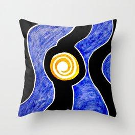 Moonlight Drive Throw Pillow