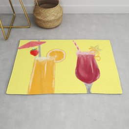 Summer drinks Rug