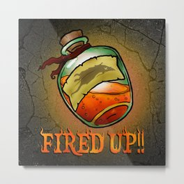 You're Fired Metal Print