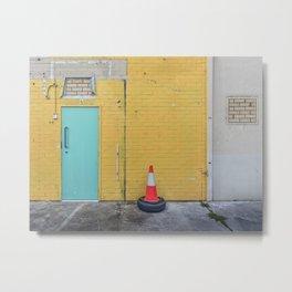 Urban Wall Art Metal Print