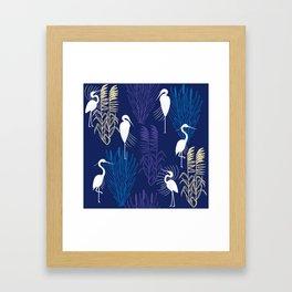 Herons Framed Art Print