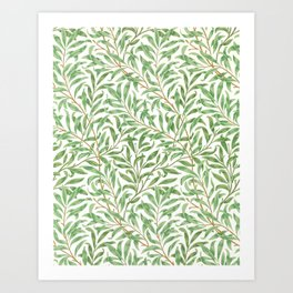 Willow Bough by William Morris,1887 Art Print