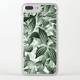 Leaves Photography | Green Tropical Plant Art | Nature | Wild | Earth Clear iPhone Case