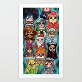 Hamstercitos Art Print