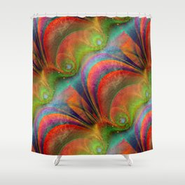 abstraction -02- Shower Curtain