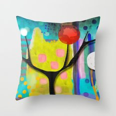 You love this town even if it doesn't ring true Throw Pillow