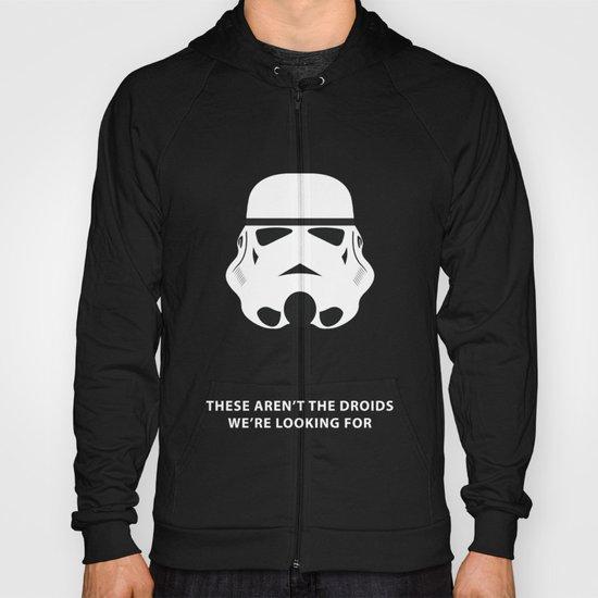 Star Wars Minimalism - Stormtrooper Hoody