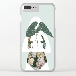 Simple offering Clear iPhone Case