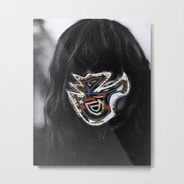 Inner Mask - Collage Metal Print