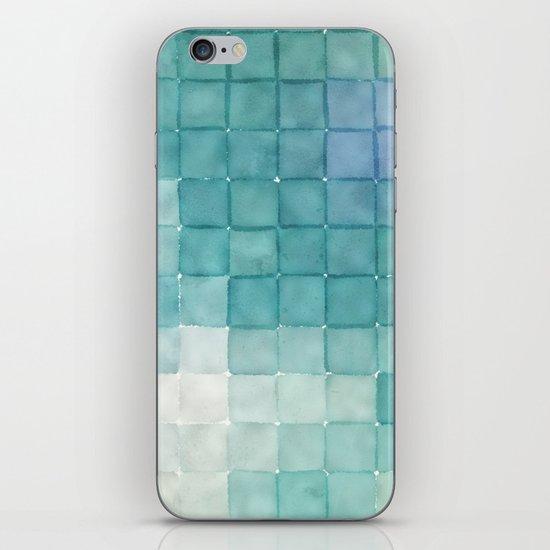 Polaroid Pixels IV (Clouds) iPhone & iPod Skin
