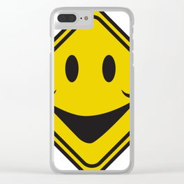 Comedy signs Clear iPhone Case