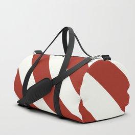 Peppermint Stripes Duffle Bag