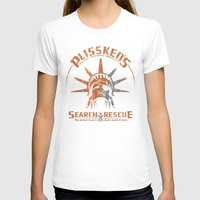 discount T-shirts featuring Snake Plissken's Search & Rescue Pty. Ltd. by 6amcrisis