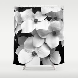 Flora Dogwood Shower Curtain
