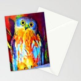 Barking Owl Stationery Cards