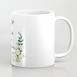 Smash The Patriarchy - A Beautiful Floral Print Coffee Mug