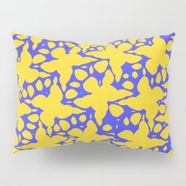Asymmetry collection: abstract flowers in the water Pillow Sham