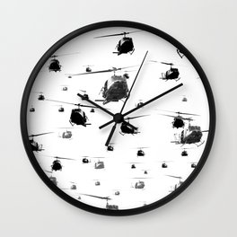 THE HELICOPTERS Wall Clock