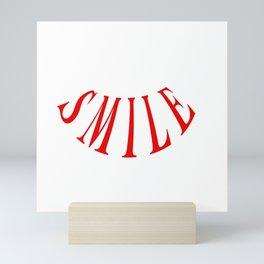 MAKE ME SMILE LOGO Mini Art Print