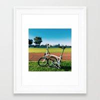 brompton Framed Art Prints featuring Brompton by Juan Lyn