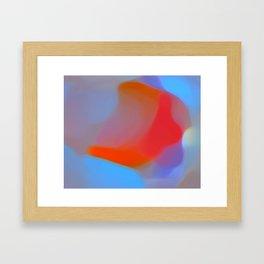 Diffuse colour Framed Art Print