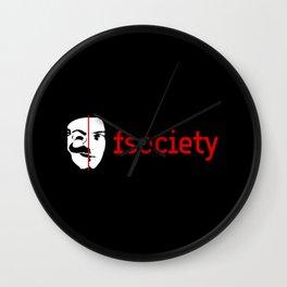 fsociety Wall Clock