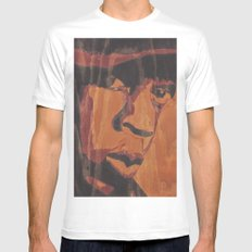 Jay White MEDIUM Mens Fitted Tee
