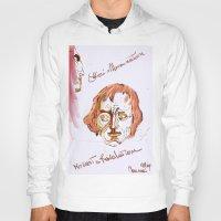 mozart Hoodies featuring Mozart & Salieri by MENAGU'