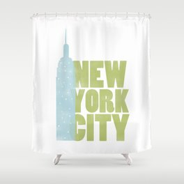 New York City - Empire State Shower Curtain