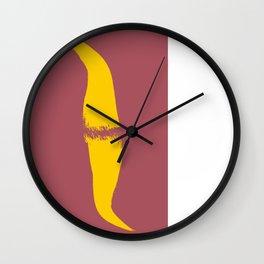 Cobre rosa amarelo 01 Wall Clock