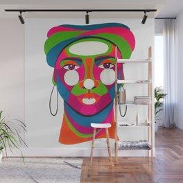 Palenquera es color Wall Mural
