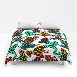 TOXIC FROGS PATTERN Comforters