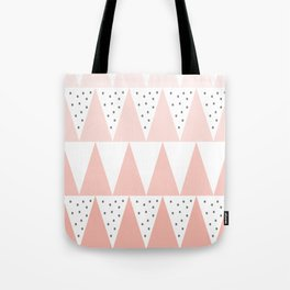Spikes and Dots Tote Bag