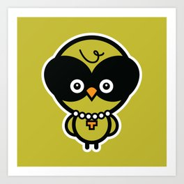 Owlivia Art Print