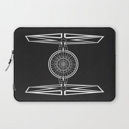 Tie Fighter Mandala Illustration print Laptop Sleeve