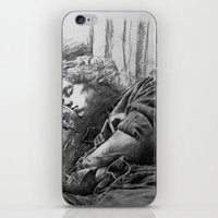 harry styles iPhone & iPod Skins featuring Harry Styles by Adele_F