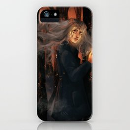 Flames & Ashes iPhone Case