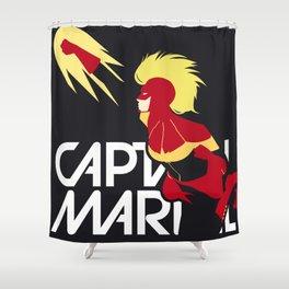 Captain Carol Danvers Shower Curtain