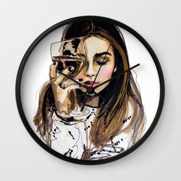 Wednesday Wall Clock