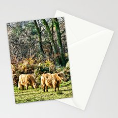 Highland Cows Stationery Cards