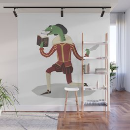 William Snakespeare Wall Mural
