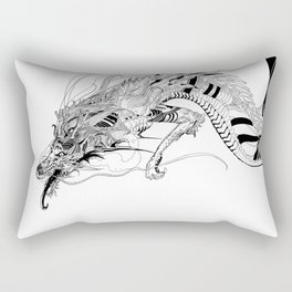 Falling dragon Rectangular Pillow