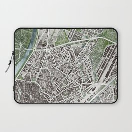 Sevilla city plan Laptop Sleeve