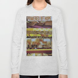 Collage - Powered by Hope Long Sleeve T-shirt
