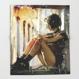 Mathilda - Leon the Professional Throw Blanket