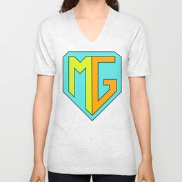 Meddling Guardians Logo Unisex V-Neck