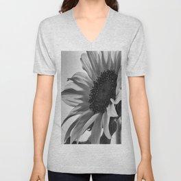 Sunflower Black & White Unisex V-Neck
